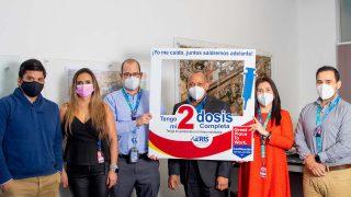 AERIS Mempromosikan Vaksinasi Di Bandara San Jose